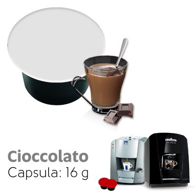 Italian Coffee capsule cioccolato Lavazza Blue