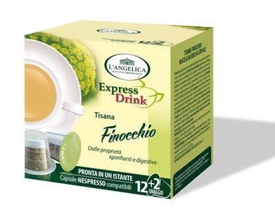 L'Angelica capsule compatibili A modo mio tisana finocchio