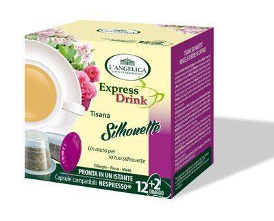 L'Angelica capsule compatibili Nespresso tisana shilouette