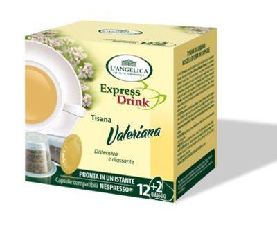 L'Angelica capsule valeriana per Nespresso